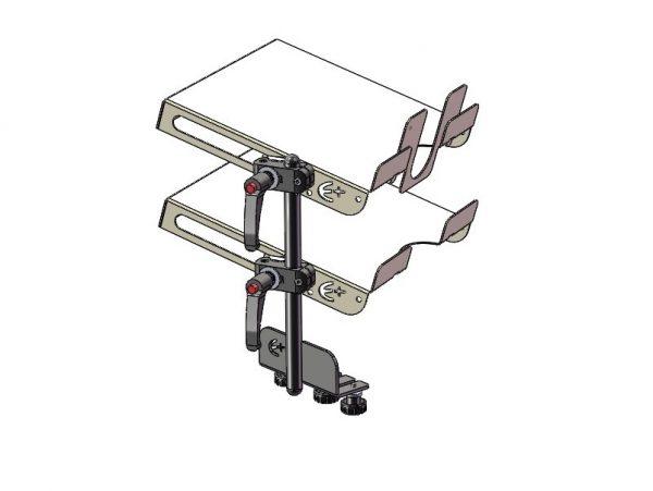 Clé 6 mât support tablette pour support universel - 1000278