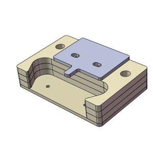 Kit pour charnière sur cale élastomère HEOL 3 - 1000439