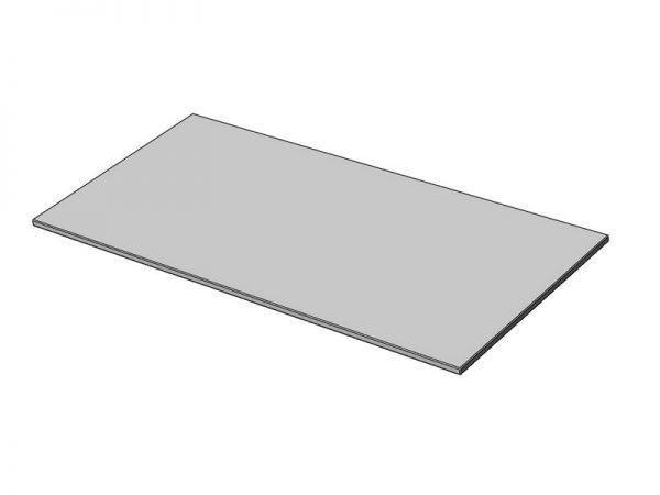 Plateau rectangulaire mélaminé
