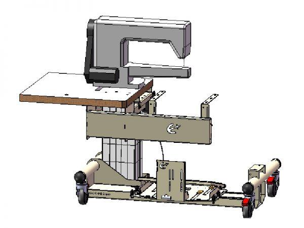 Kit plateau réglable pour bâti HEOL 2.1 - SP1000899