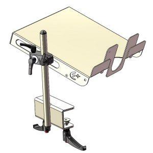 Tablette amovible réglable 3D - 1000404